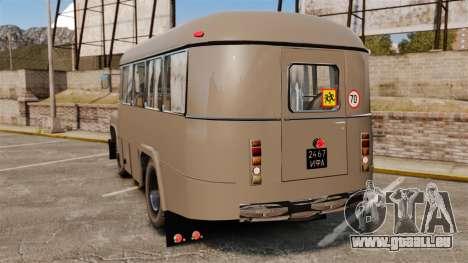 Kavz-685 pour GTA 4 Vue arrière de la gauche