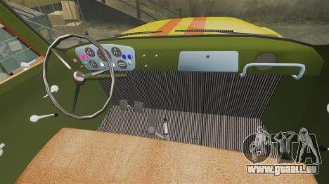 Urgence gaz-52 pour GTA 4 est une vue de l'intérieur