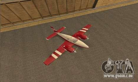 Rustler GTA V pour GTA San Andreas vue arrière