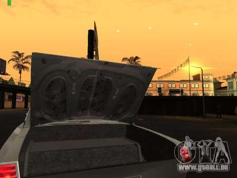Gaz Drag Edition 24 pour GTA San Andreas vue intérieure