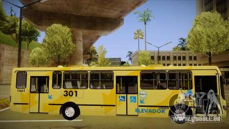 Busscar Urbanuss Ecoss MB OF 1722 M BHBUS für GTA San Andreas zurück linke Ansicht