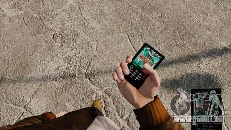 Thèmes pour téléphone Vampire The Masquerade pour GTA 4 troisième écran