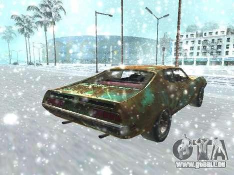 Ford Torino Rusty für GTA San Andreas zurück linke Ansicht