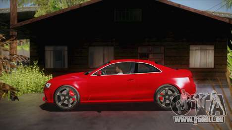 Audi RS5 2012 für GTA San Andreas linke Ansicht
