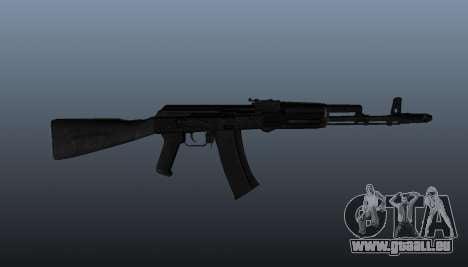 AK-74 m pour GTA 4 troisième écran