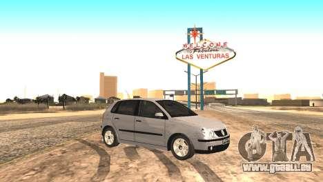 Volkswagen Polo 2.0 2005 pour GTA San Andreas