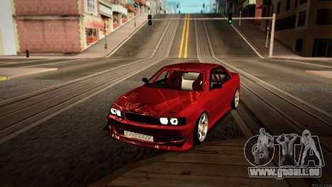 Toyota Chaser Tourer V pour GTA San Andreas sur la vue arrière gauche