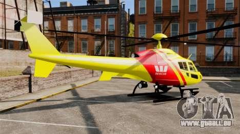 Westpac Rescue Australia für GTA 4 linke Ansicht