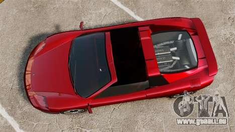 Die neuen Turismo für GTA 4 hinten links Ansicht