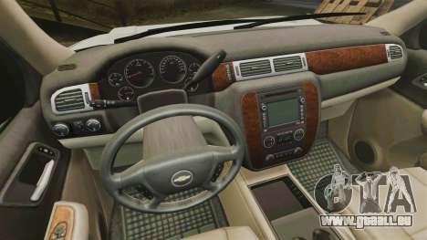 Chevrolet Tahoe Slicktop [ELS] v2 pour GTA 4 Vue arrière