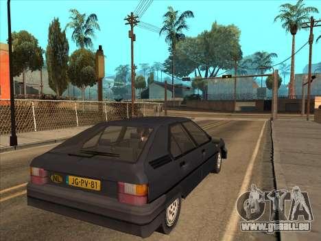 Citroën BX pour GTA San Andreas laissé vue
