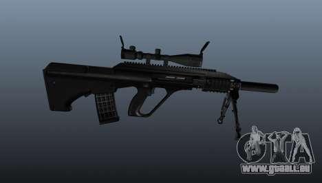 Fusil automatique Steyr AUG3 pour GTA 4 troisième écran