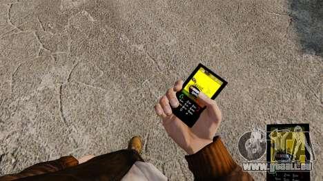 Thèmes pour les réseaux mobiles de marques télép pour GTA 4 quatrième écran
