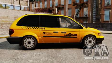 Dodge Grand Caravan 2005 Taxi LC für GTA 4 linke Ansicht