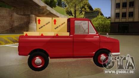 Suzulight Carry 360 pour GTA San Andreas vue de droite