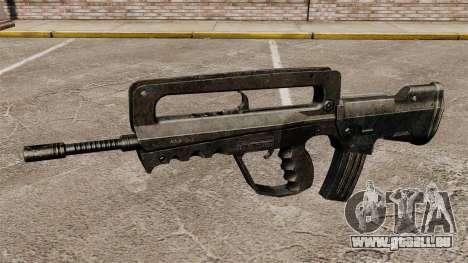 Fusil d'assaut FAMAS pour GTA 4 troisième écran