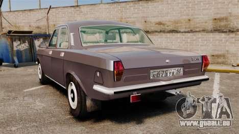 Volga gaz-2410 v2 pour GTA 4 Vue arrière de la gauche