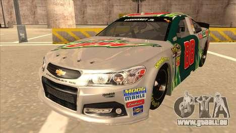Chevrolet SS NASCAR No. 88 Diet Mountain Dew für GTA San Andreas