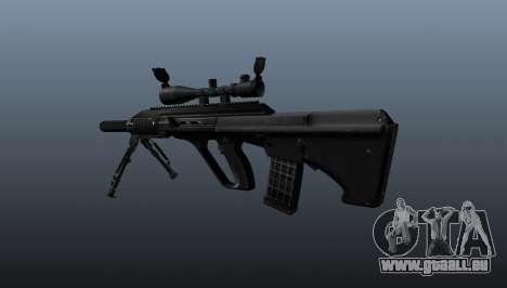 Fusil automatique Steyr AUG3 pour GTA 4 secondes d'écran