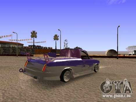 Vaz 2102 DRFT amusant pour GTA San Andreas sur la vue arrière gauche