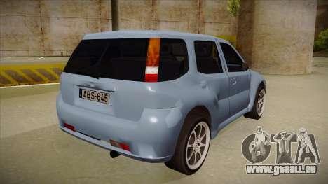Suzuki Ignis pour GTA San Andreas vue de droite