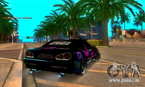 Elegy DC v1 pour GTA San Andreas sur la vue arrière gauche