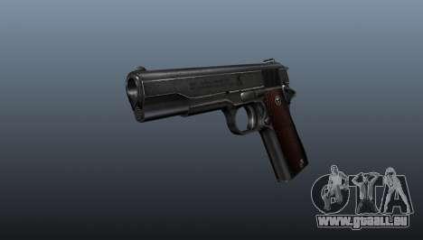 Pistole Colt M1911 v4 für GTA 4
