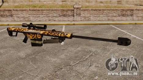 Le Barrett M82 sniper rifle v9 pour GTA 4