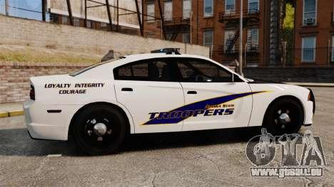 Dodge Charger 2013 AST [ELS] pour GTA 4 est une gauche