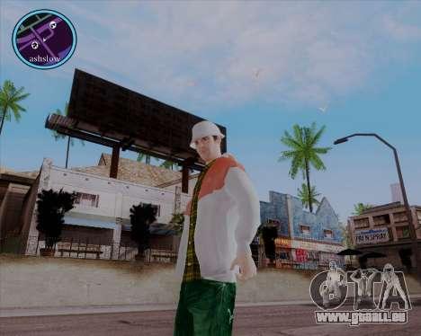 Maccer HD für GTA San Andreas