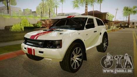 Melon EXR S 2012 FIV + AD pour GTA San Andreas laissé vue