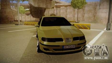 Seat Toledo German Style pour GTA San Andreas laissé vue