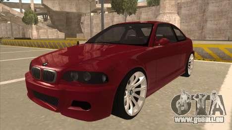 BMW M3 Tuned für GTA San Andreas