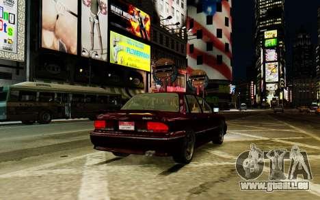 Mitsubishi Galant V2 pour GTA 4 est un droit