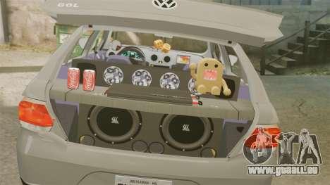Volkswagen Gol G6 2013 Turbo Socado für GTA 4 Seitenansicht