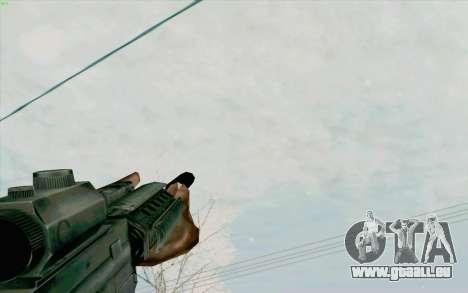 Die M4a1 für GTA San Andreas fünften Screenshot