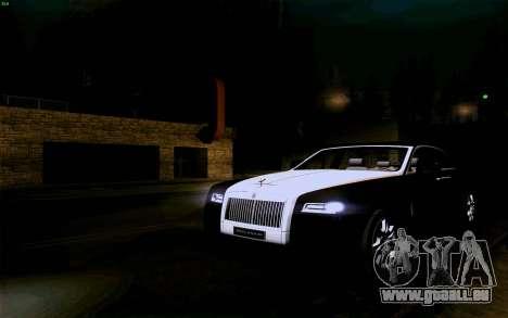 Rolls-Royce Ghost pour GTA San Andreas vue de côté