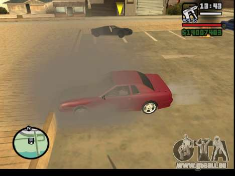 GTA V to SA: Burnout RRMS Edition für GTA San Andreas fünften Screenshot