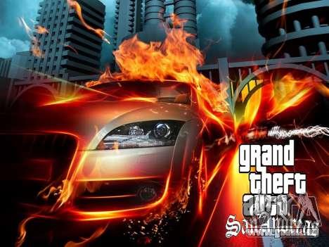 Nouveaux écrans de chargement pour GTA San Andreas quatrième écran