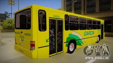 Busscar Urbanus SS Volvo B10 M garcia pour GTA San Andreas vue de droite