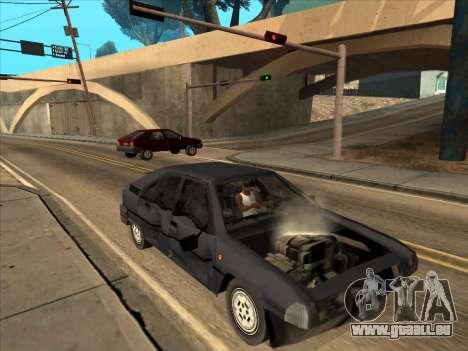 Citroën BX für GTA San Andreas zurück linke Ansicht