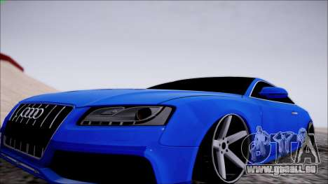 Audi S5 pour GTA San Andreas sur la vue arrière gauche