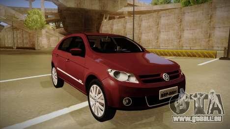 VW Gol Power 1.6 2009 pour GTA San Andreas laissé vue