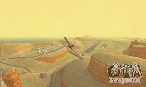 Hercules GTA V pour GTA San Andreas vue arrière
