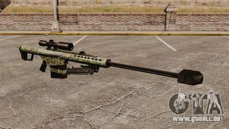 Le v6 de fusil de sniper Barrett M82 pour GTA 4