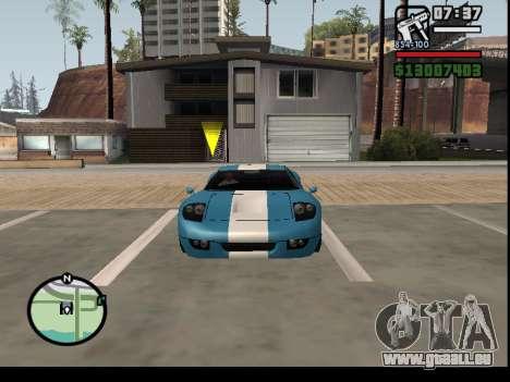 Entführung von Autos für GTA San Andreas dritten Screenshot