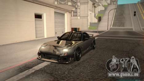 Mazda RX-7 STANCENATION für GTA San Andreas linke Ansicht