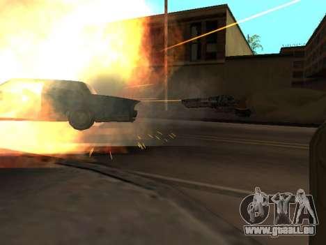 WeaponStyles pour GTA San Andreas troisième écran