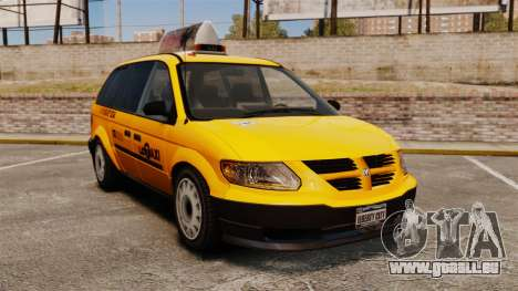 Dodge Grand Caravan 2005 Taxi LC für GTA 4