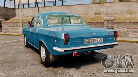 Volga gaz-2410 v3 pour GTA 4 Vue arrière de la gauche